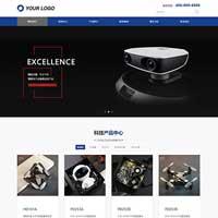 响应式大气企业营销型网站模板002