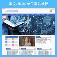 学校/机构/单位网站模板