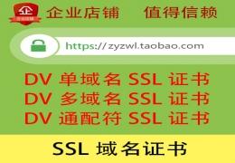 SSL域名证书