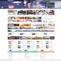 h5游戏网站网页界面