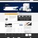中英文网站公司模板