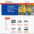 响应式自动化机床设备企业网站模板