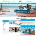 光学眼镜通用行业双语网站模板